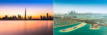 Dubai Skyline and The Palm Jumeirah