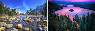 El Capitan, Yosemite & Lake Tahoe