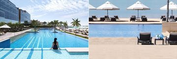 Fairmont Bab Al Bahr, Hotel Pool and Beach