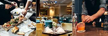 Fairmont Chateau Laurier, Zoe's Charcuterie, Wilfrids Restaurant and Zoe's Bar