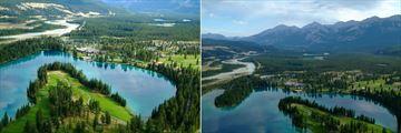 Fairmont Jasper Park Lodge, Aerial View