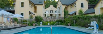 The pool at Farmhouse Inn Sonoma