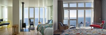 Fogo Island Inn, Seaview Bedroom