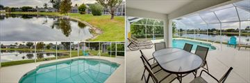 Fort Myers Area Pool Homes, Exterior, Indoor Pool and Pool Close Up