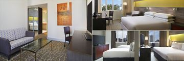 Four Points by Sheraton Perth, Deluxe Suite, Studio Room and Family Suite