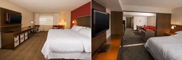 Four Points by Sheraton Winnipeg, Traditional King Room and Traditional or Deluxe One Bedroom Suite