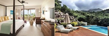 Four Seasons Resort Nevis, Luxury Suite and Private Plunge Pool