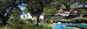 Shangri-La's Rasa Sayang Resort, gardens and Chi Spa