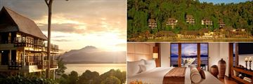 Accommodation at Gaya Island Resort
