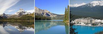 Glacier Bay National Park, Emerald Lake in Yoho & Stunning Lake Louise Views