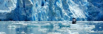 Sailing through Alaska's glaciers