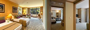 Deluxe Suite and Family Suite at Gloria Verde Resort