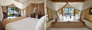 Luxury Villas and Deluxe Garden View rooms at Gold Zanzibar Beach House & Spa
