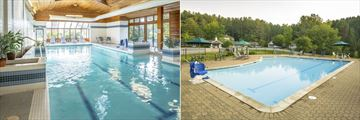 Golden Eagle Resort, Indoor Pool and Outdoor Pool & Resort