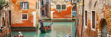 Gondola rides through Venice's canals