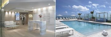 Spa and Sky Pool at Grand Beach Hotel Surfside