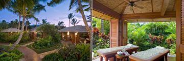Anara Spa Village and Couples Massage Hale at Grand Hyatt Kauai Resort and Spa
