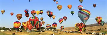 The Great Reno Balloon race in Nevada