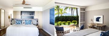 Premium Beach Club Room and Premium Room at Hamilton Island Beach Club