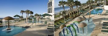 Hampton Inn & Suites Oceanfront Resort, Pool