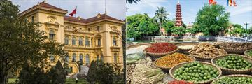 Presidential Palace, Temple and Street Food, Hanoi