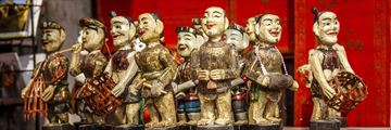 Hanoi Vietnam Vietnamese Water Puppets