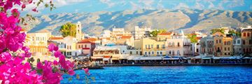 The harbour of Chania, Crete