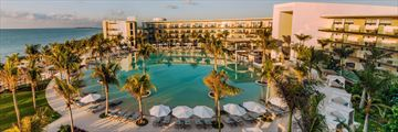 Aerial view of Haven Riviera Cancun