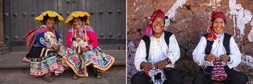 Locals in Cusco, Peru