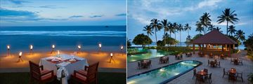 Hikka Tranz by Cinnamon, Romantic Dining on The Beach and Tranzfuse Pool Bar