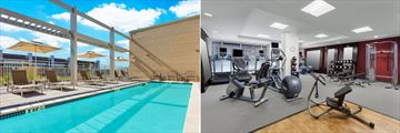 Pool and Fitness Centre at Hilton Garden Inn Washington DC / Georgetown Area