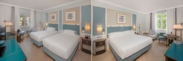 Double Room and Twin Room at Hilton Imperial Dubrovnik