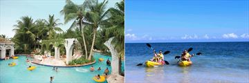 Hilton Rose Hall Resort & Spa, Waterpark and Kayaking
