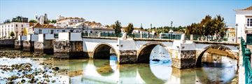 Historic bridge in Tavira, Algarve