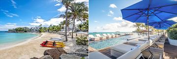 Hodges Bay Resort & Spa, Beach, Watersports and Resort and Adult Pool
