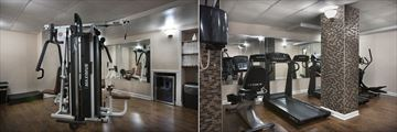 Fitness Room at Holiday Inn At The Pavilion