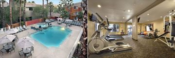 Outdoor Pool Area and Fitness Centre at Holiday Inn Express & Suites - Old Town