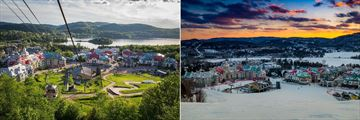 Holiday Inn Express & Suites Tremblant, View from Mont Tremblant