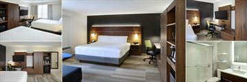 Holiday Inn Express Toronto Downtown, Accommodation