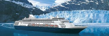 Holland America cruise ship in Alaska (2020 sailings will be on MS Koningsdam)