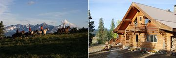 Horseback Riding & Ranch scenery in Vancouver Island