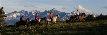 Horseback riding in Cariboo Chilcotin Coast