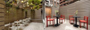Hospitality House, Outdoor Deck