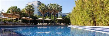 The pool at Hotel Aimia