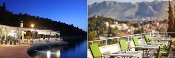 Spinaker and Alverde Terrace at Hotel Croatia