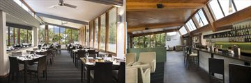 Hotel Scenic Franz Josef Glacier, Caravans Restaurant and Moa Bar