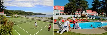 Hotel Tadoussac, Tennis and Pool