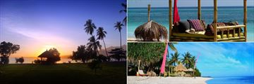 The beach at Hotel Tugu Lombok
