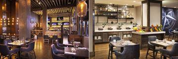 Hyatt Centric at Fisherman's Wharf, Brick & Beam Restaurant & Bar and The Wardroom Breakfast Set-Up