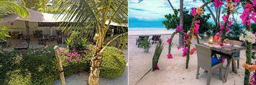 Restaurant and Dining on the Beach at Indigo Beach Zanzibar